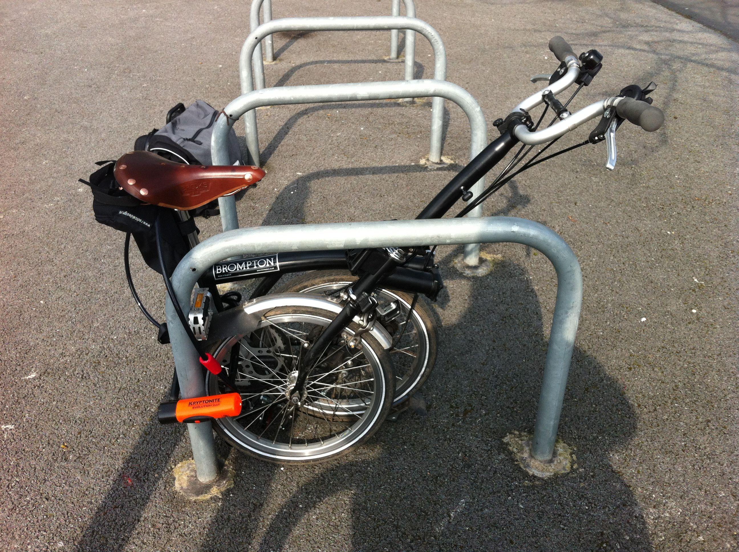 Brompton Fat Bloke On A Folding Bike Page 2